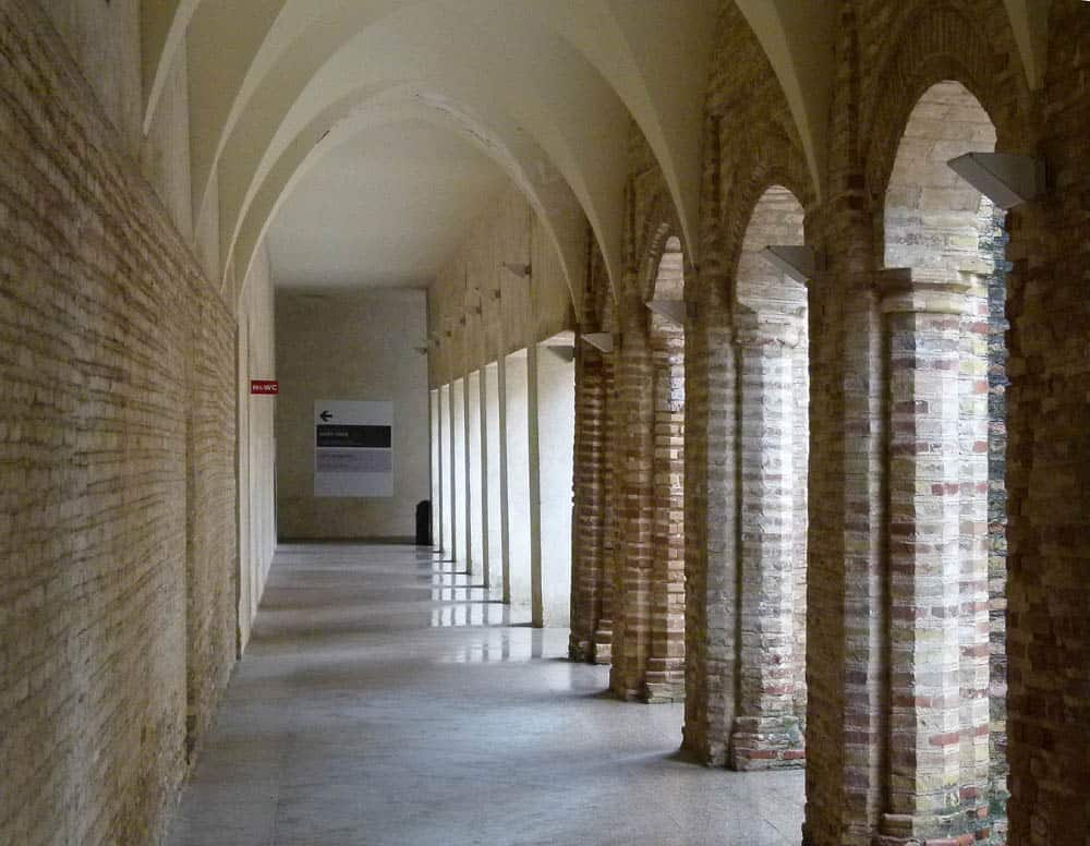 Cloister at the Contemporary Arts Centre, Seville