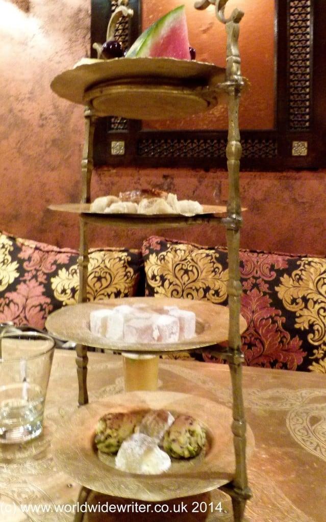 Dessert at the Levant Lounge - www.worldwidewriter.co.uk