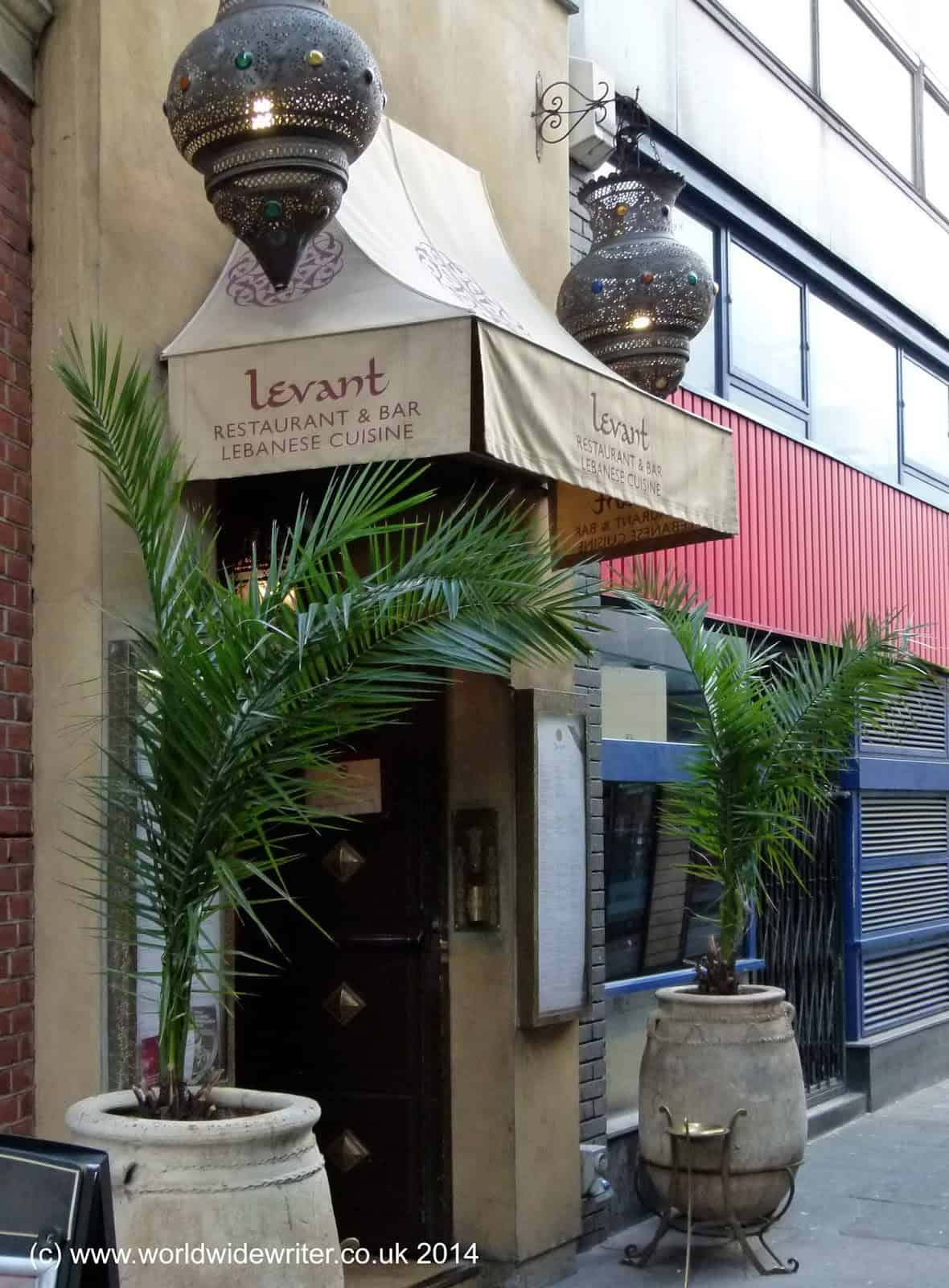 Levant London Restaurant Levant Lounge London