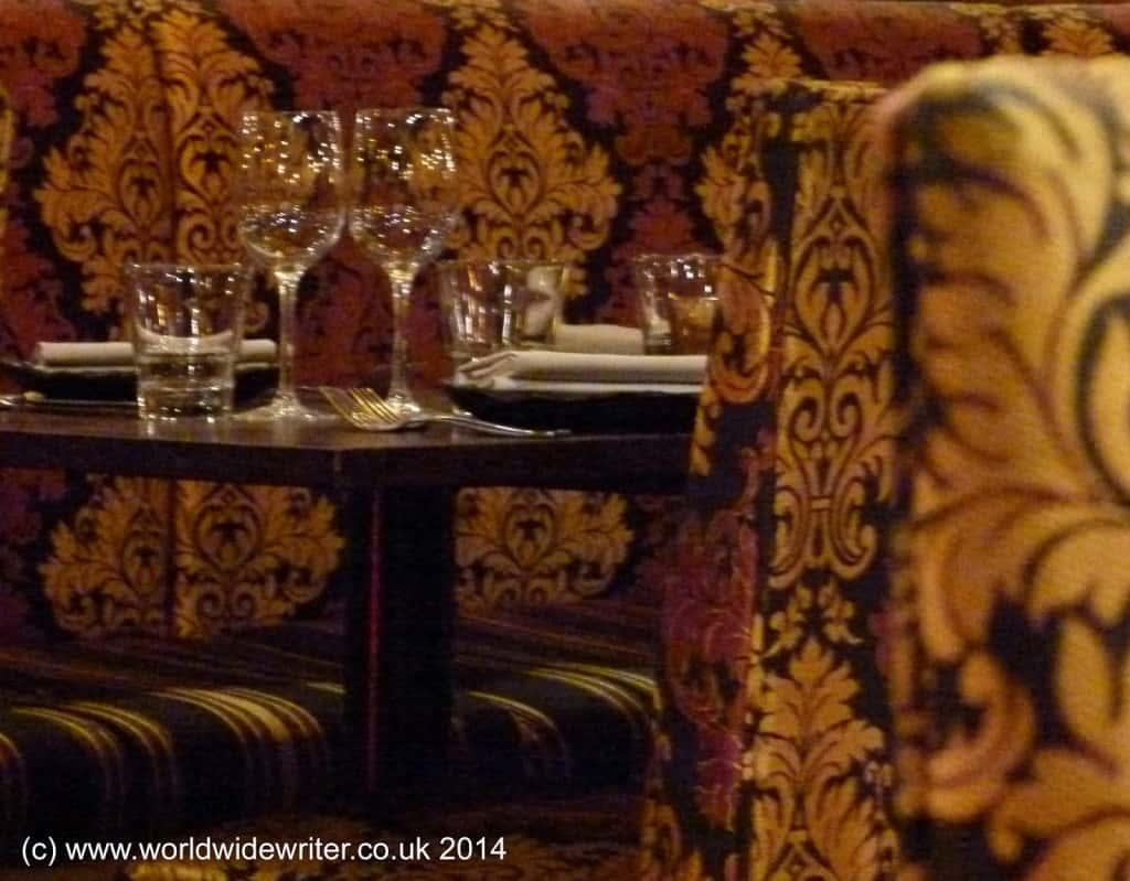 Levant Lounge, London - www.worldwidewriter.co.uk