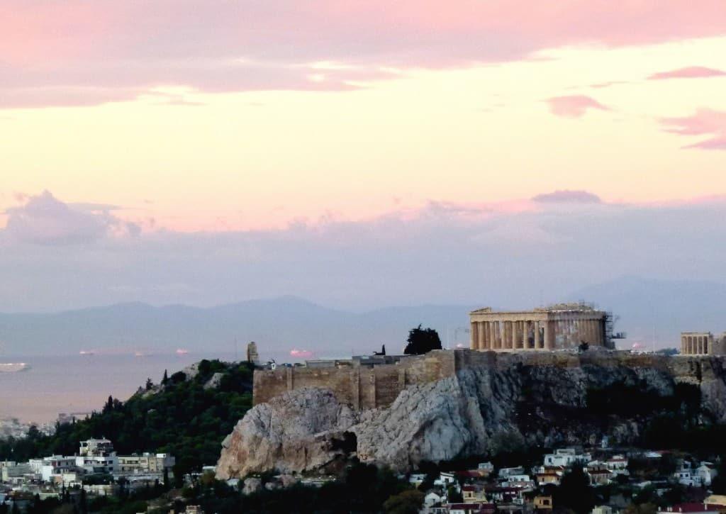 The Acropolis at sunrise, Athens