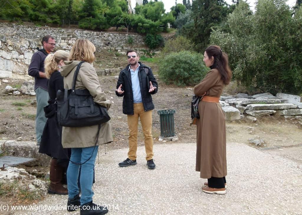 Panathenaic Way, Athens - www.worldwidewriter.co.uk