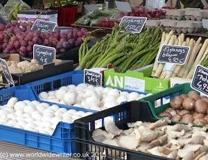 Market stall, Lloret de Mar