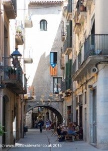 Old town of Girona