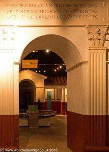 Roman Gallery at Segedunum Roman Fort