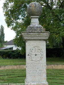 Central Pillar of the Hilton Maze, Cambridgeshire - www.worldwidewriter.co.uk