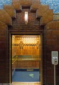 Art Deco lift