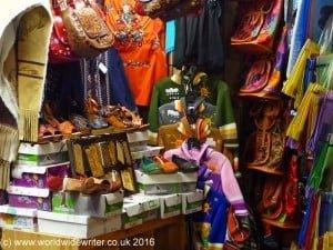 Olvera Street market
