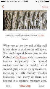 Girona article app