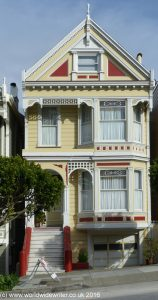 One of the Painted Ladies of Alamo Square