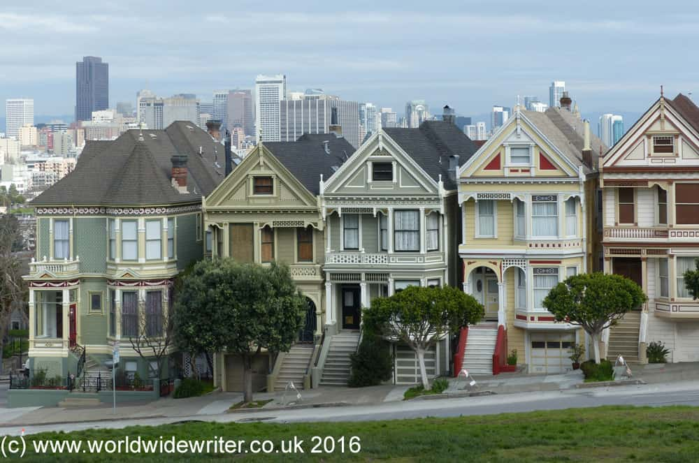 Painted Ladies of Alamo Square, San Francisco