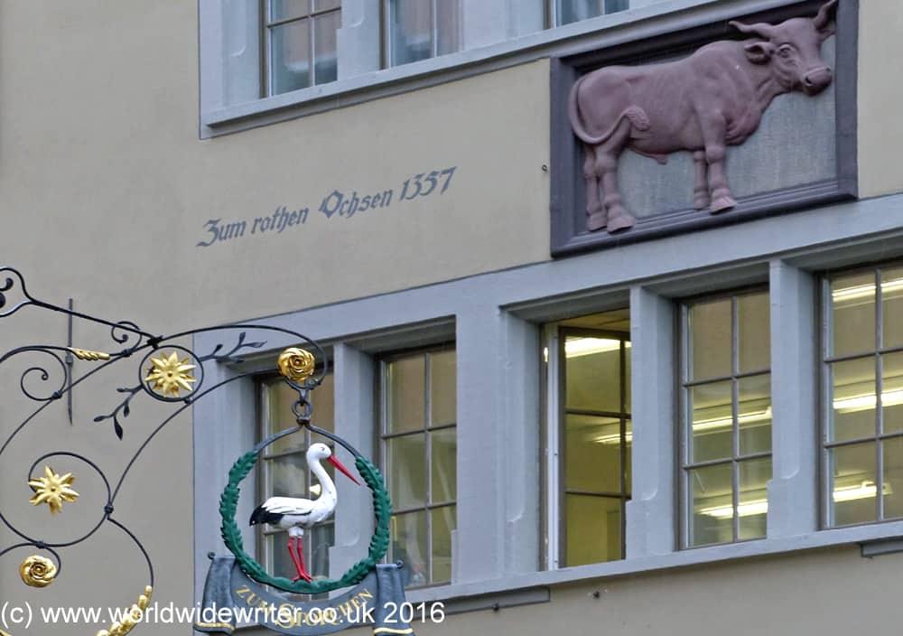 Guild insignia in Zurich