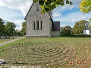 Labyrinth at Frojel, Gotland