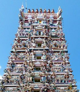 Tower of the Captain's Garden Temple, Colombo