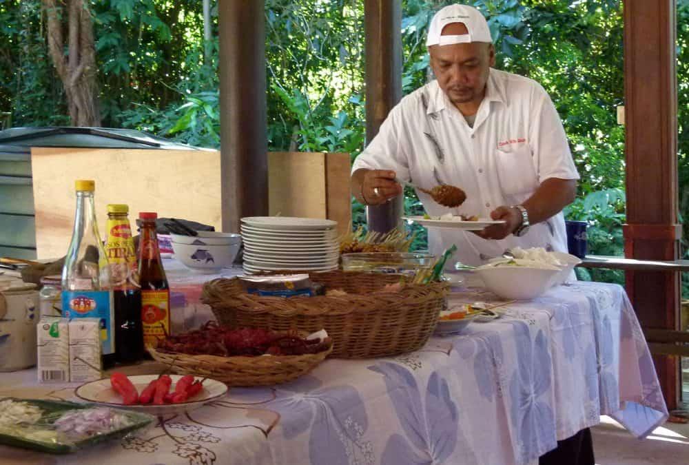 Malay cooking and sambal belacan
