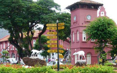 Sightseeing in Malacca, Malaysia