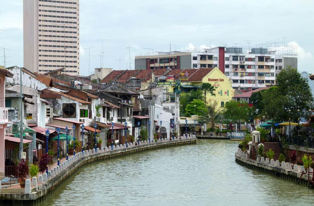 Malacca waterfront