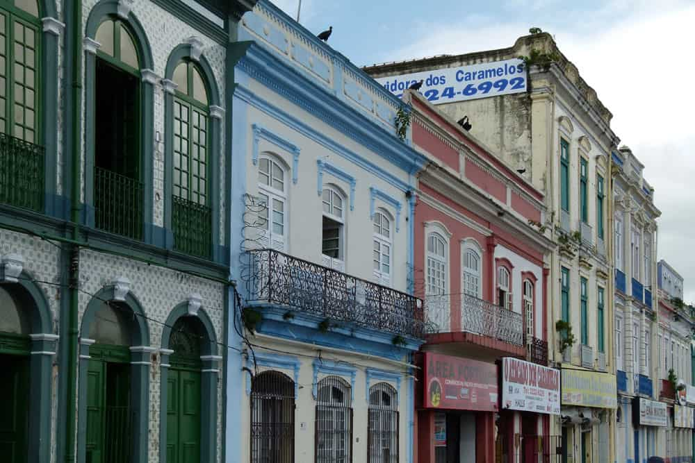 Old buildings, Belem, Brazil