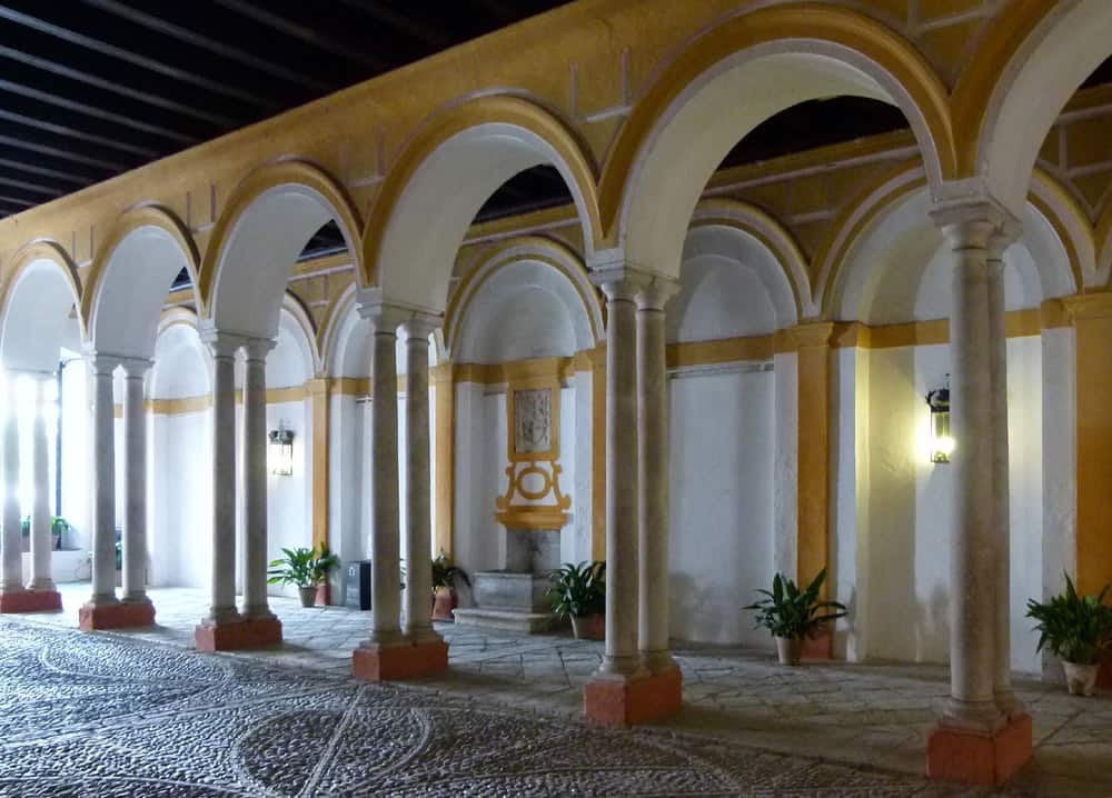 Inner courtyard, Royal Palace of Seville