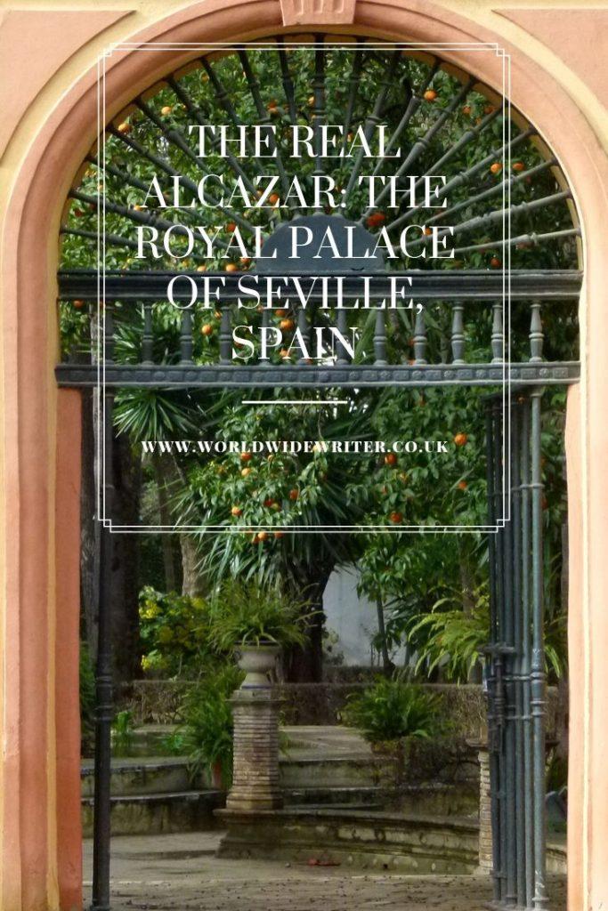 Entrance gate to the gardens, Real Alcazar Seville