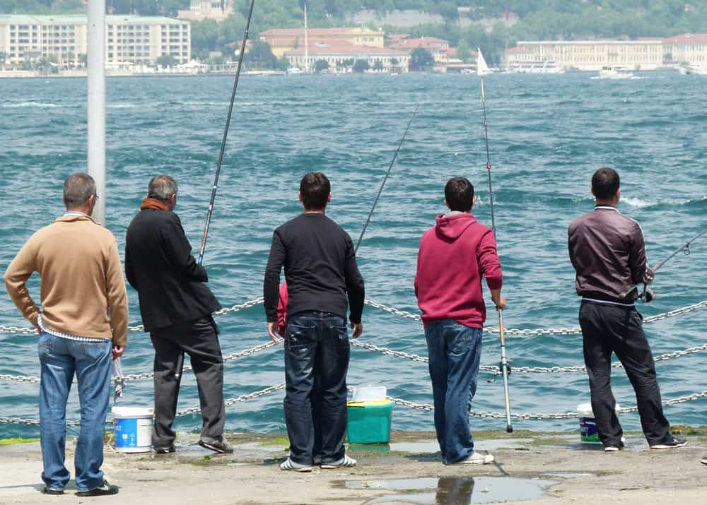 Fishermen on the Bosporus