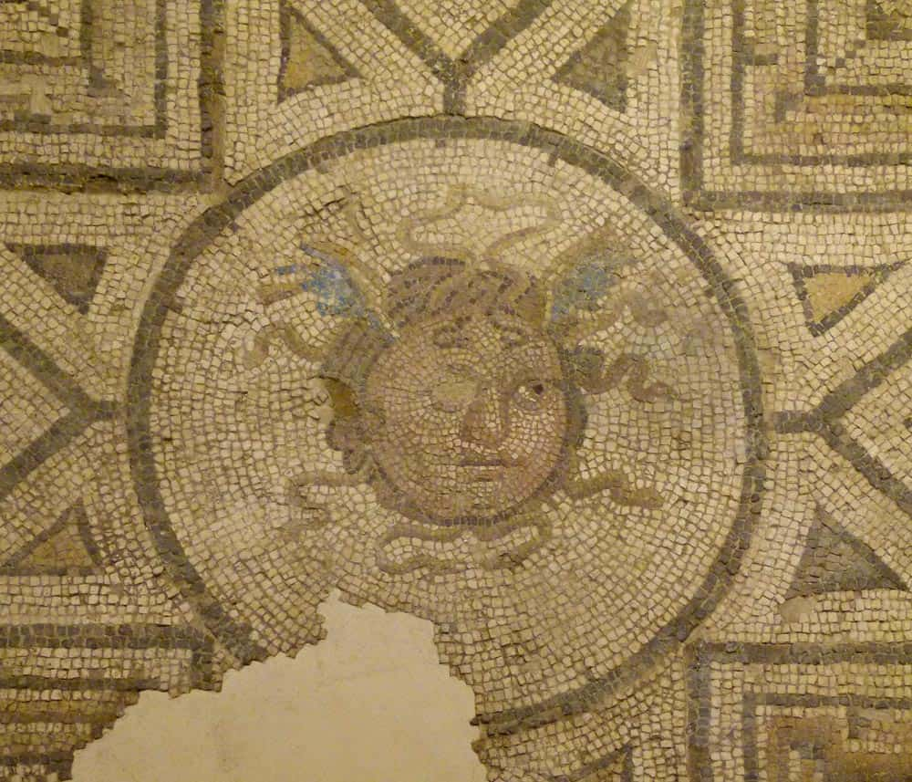 Mosaic at the Antiquarium, Metropol Parasol, Seville
