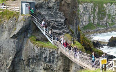 A Wobbly Bridge to Carrick-a-Rede
