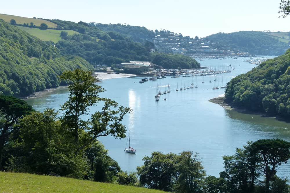 River Dart, from Greenway House