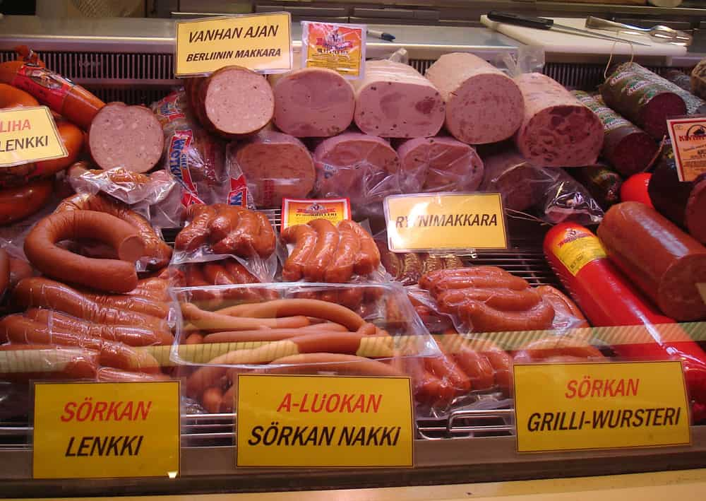 Finnish cured meats