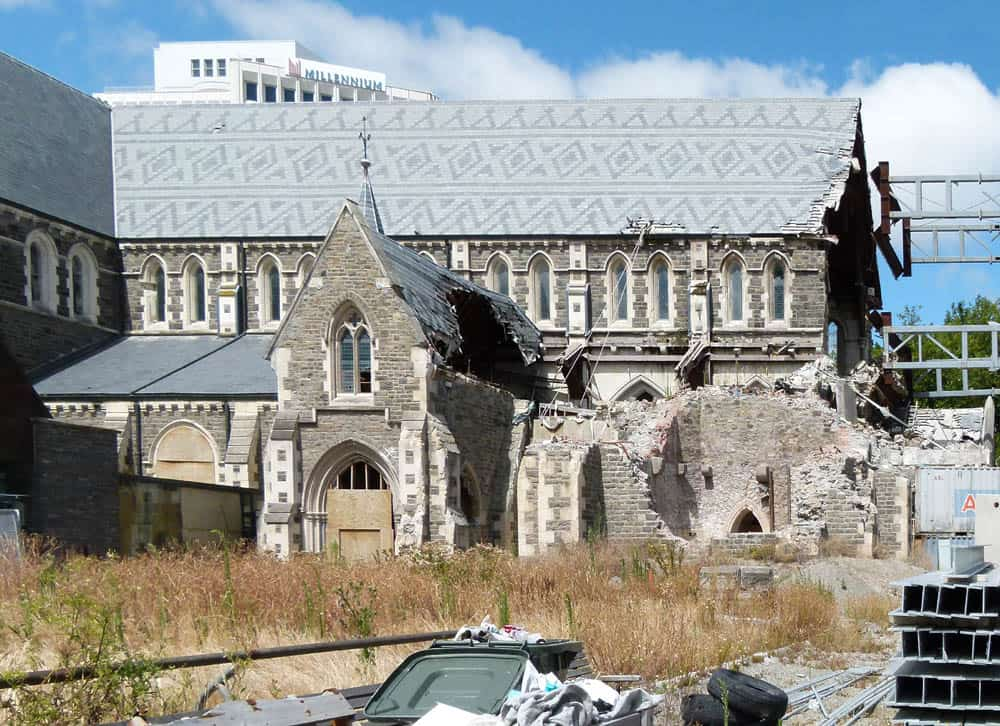 Old Cathedral, Christchurch