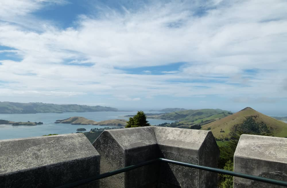 Battlements of Larnach Castle
