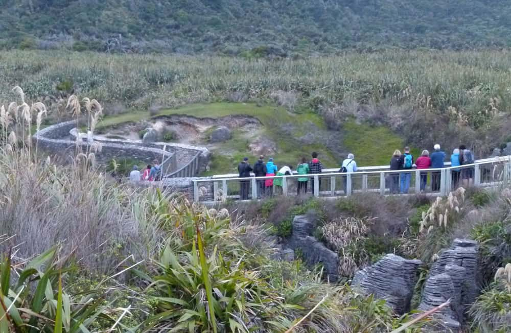 Walkway at Punakaiki