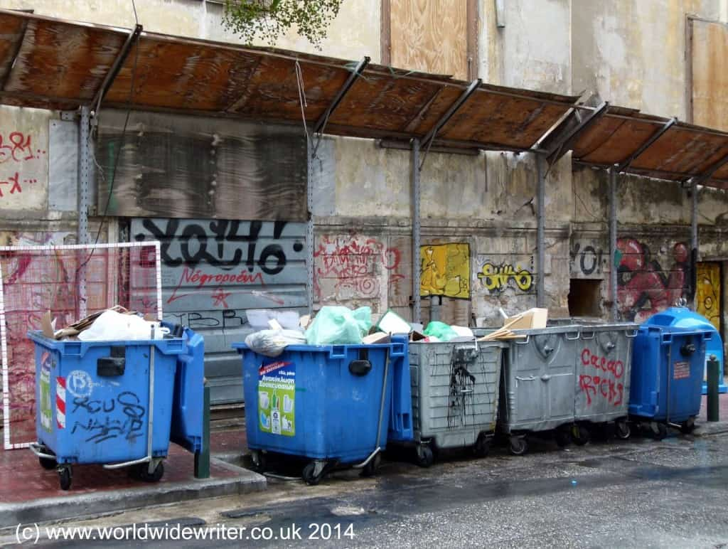 Site of a former literary salon in Athens