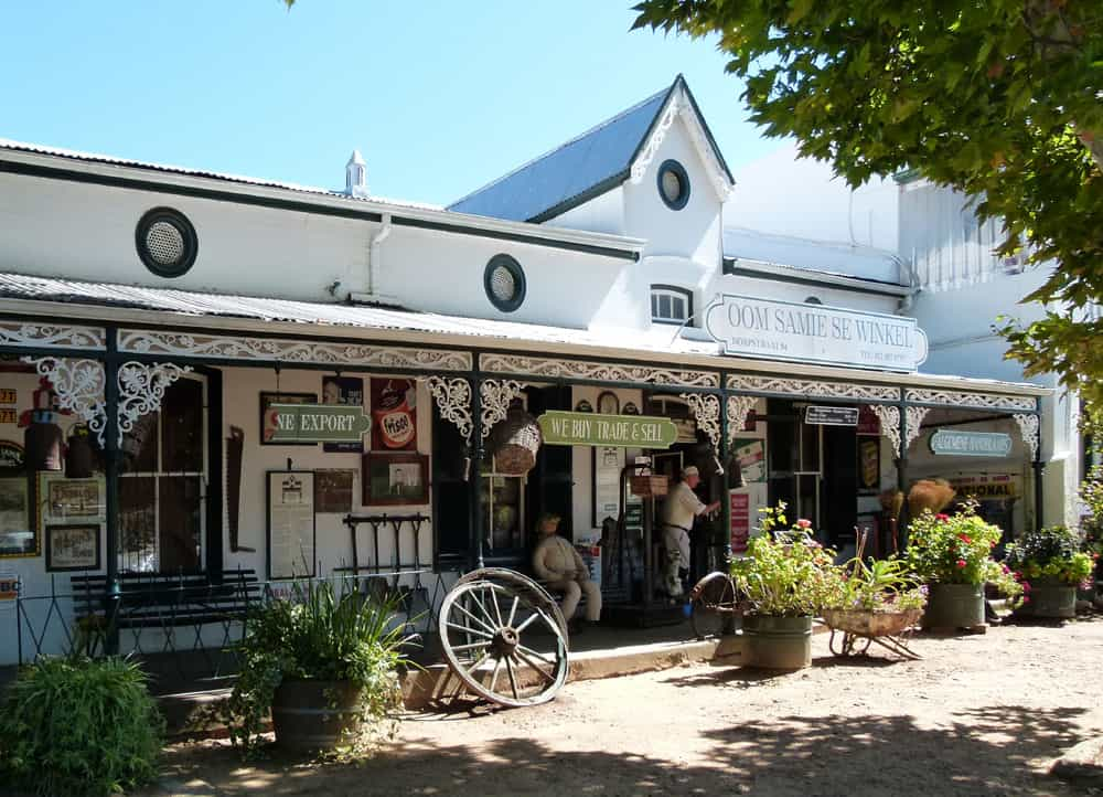 Uncle Sam's Shop, Stellenbosch