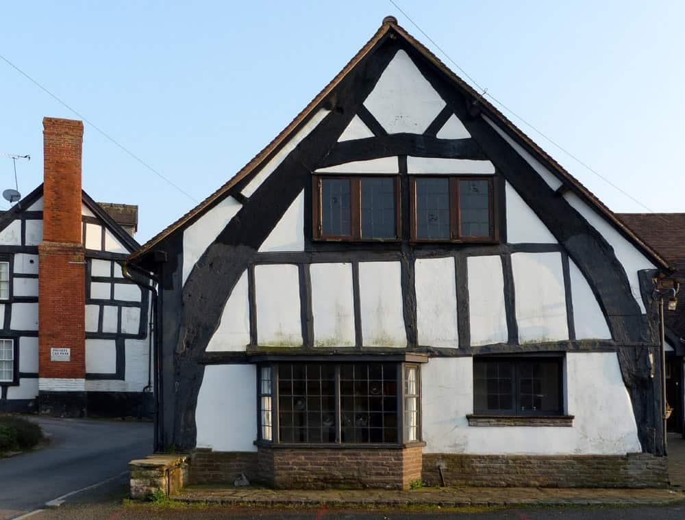 Cruck frame house, Weobley