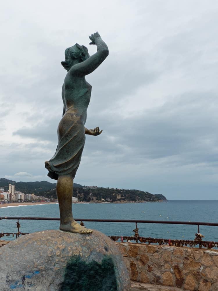 Dona Marinera, Lloret de Mar