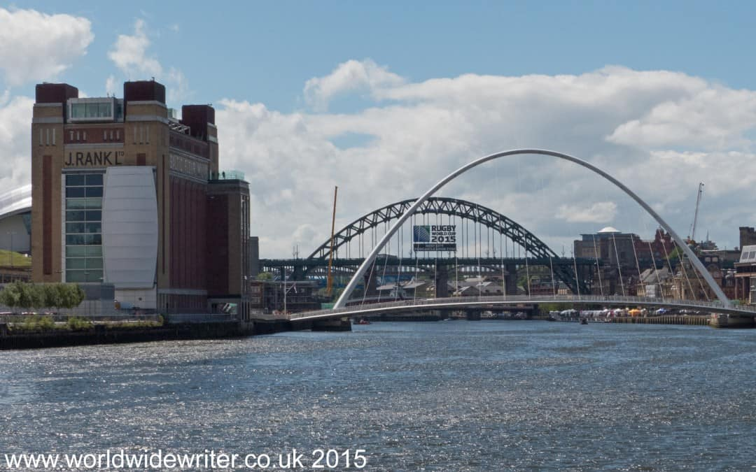 Walking Through Newcastle on The Hadrian's Wall Path