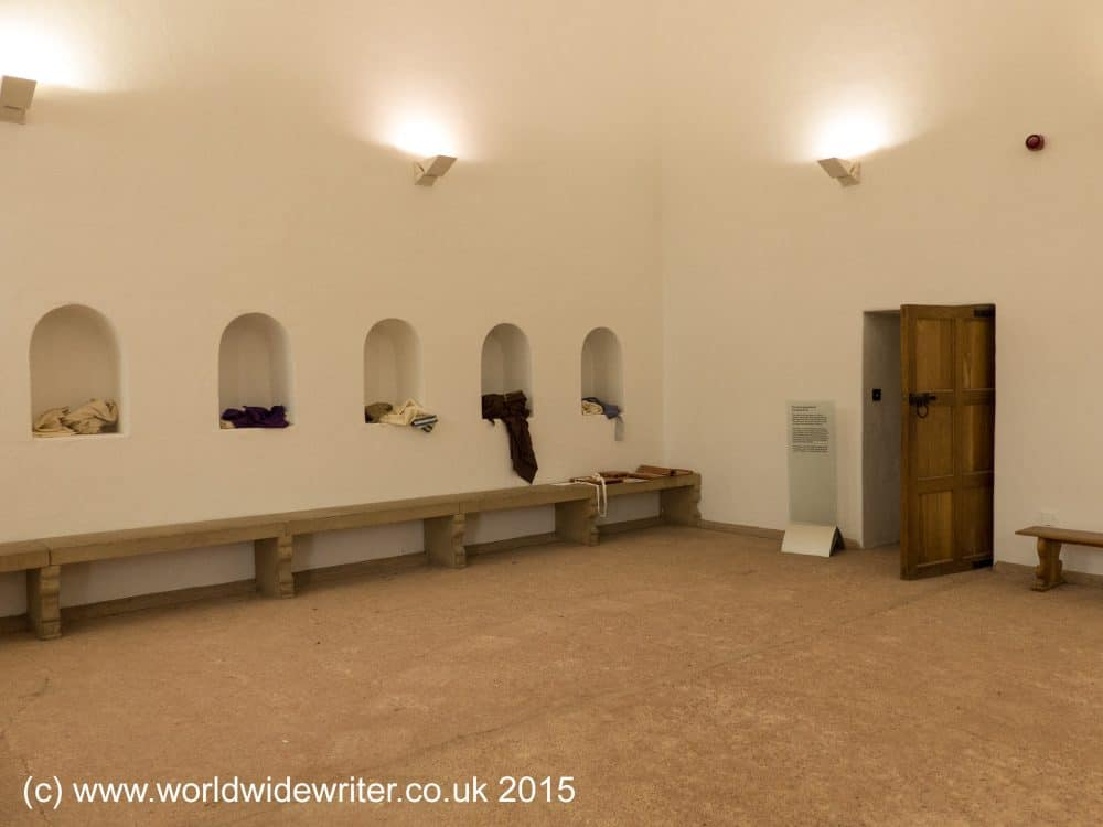 Bath house at Segedunum Roman Fort