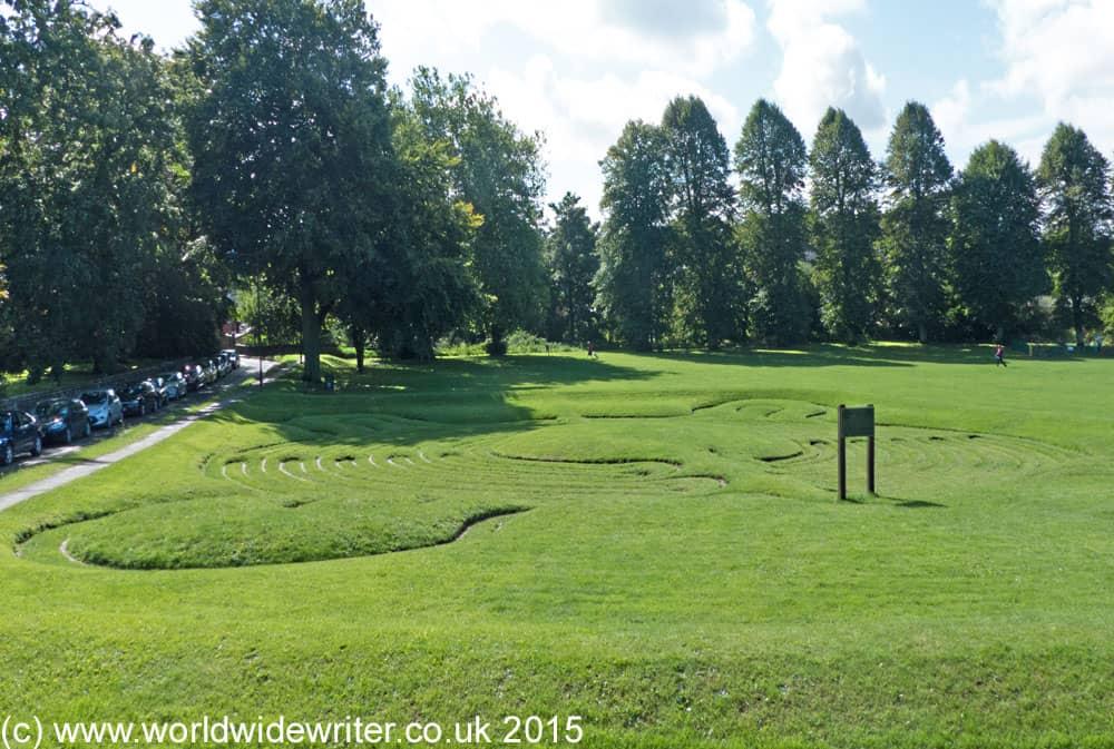 Being Amazed by the Saffron Walden Maze