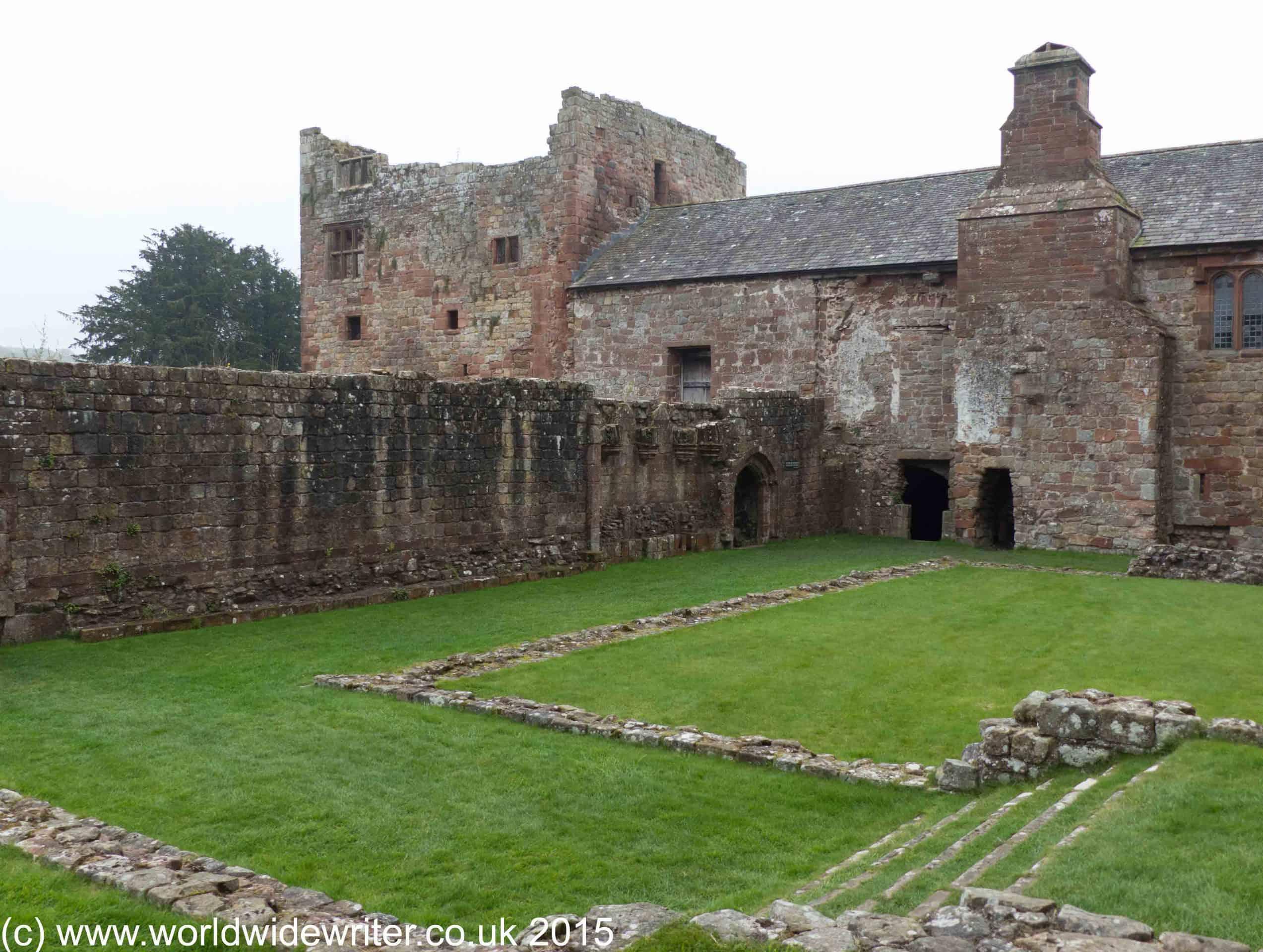 Cloister, Lanercost Priory, Northumberland - www.worldwidewriter.co.uk