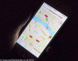GPSmyCity, a city walks app - www.worldwidewriter.co.uk