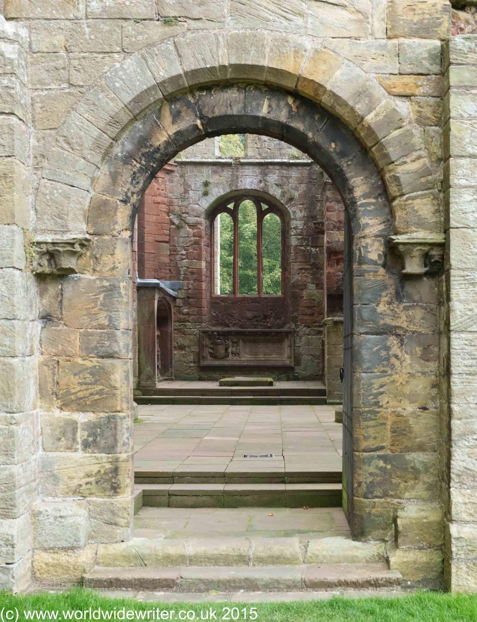 Ruins of Lanercost Priory, Northumberland - www.worldwidewriter.co.uk