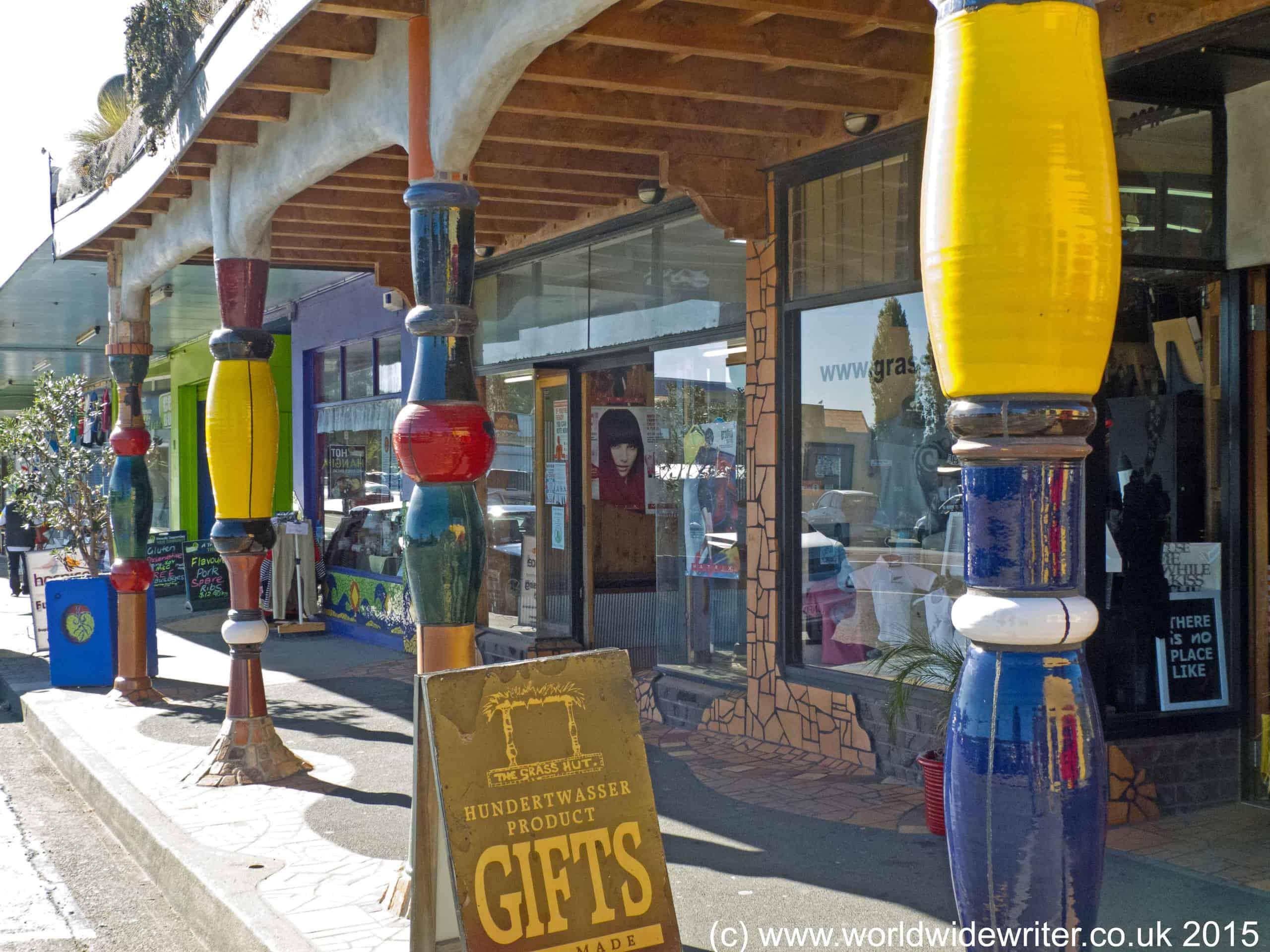 Hundertwasser Gift Shop, Kawakawa