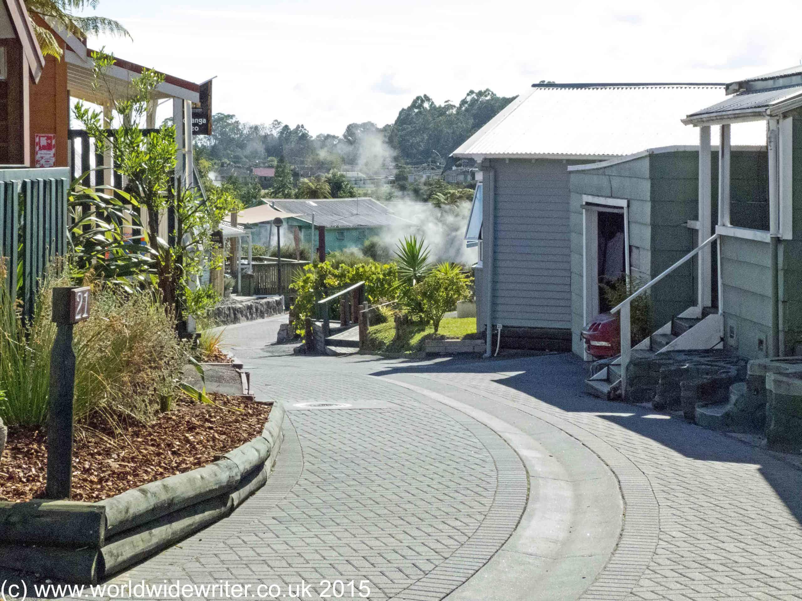 Whakarewarewa, New Zealand - www.worldwidewriter.co.uk