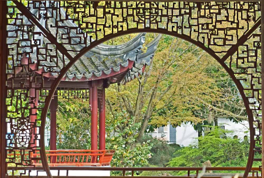 Yin and Yang at Vancouver's Dr Sun Yat Sen Classical Chinese Garden
