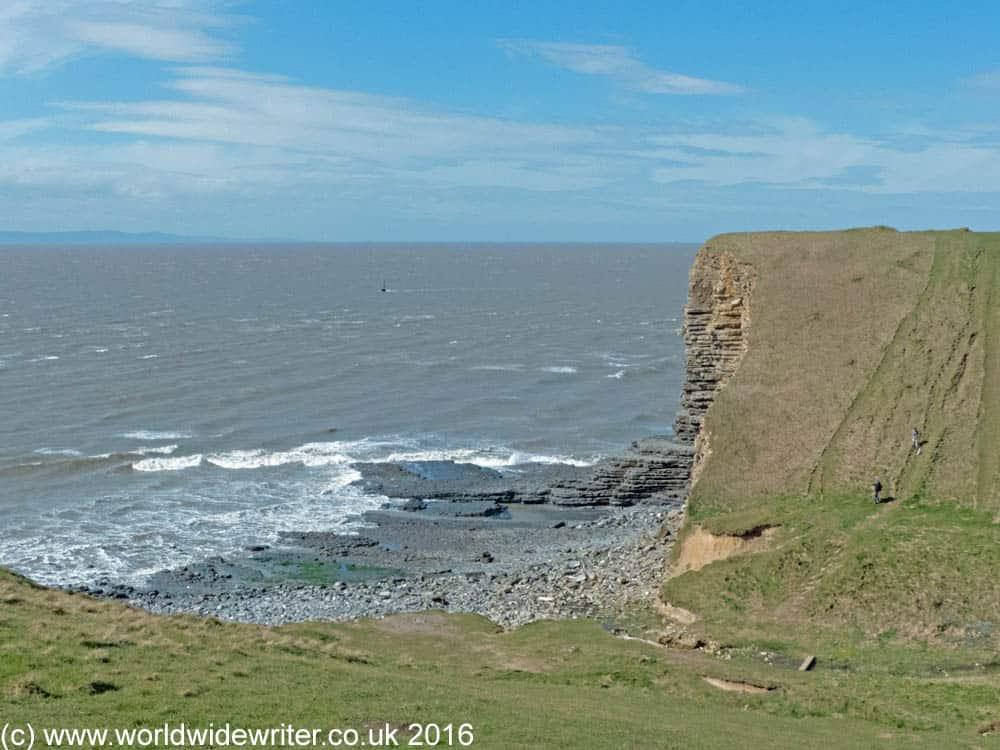Cliffs on the Glamorgan coast
