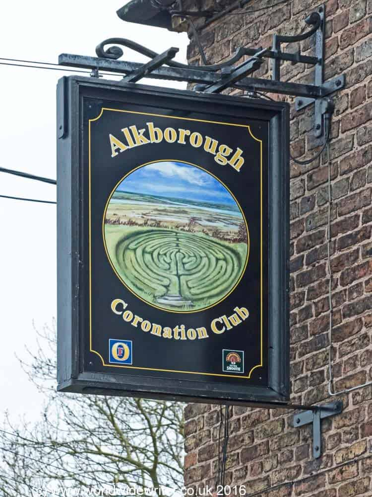 Sign outside the Coronation Club
