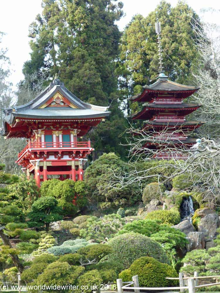Pagoda in the Japanese Tea Garden