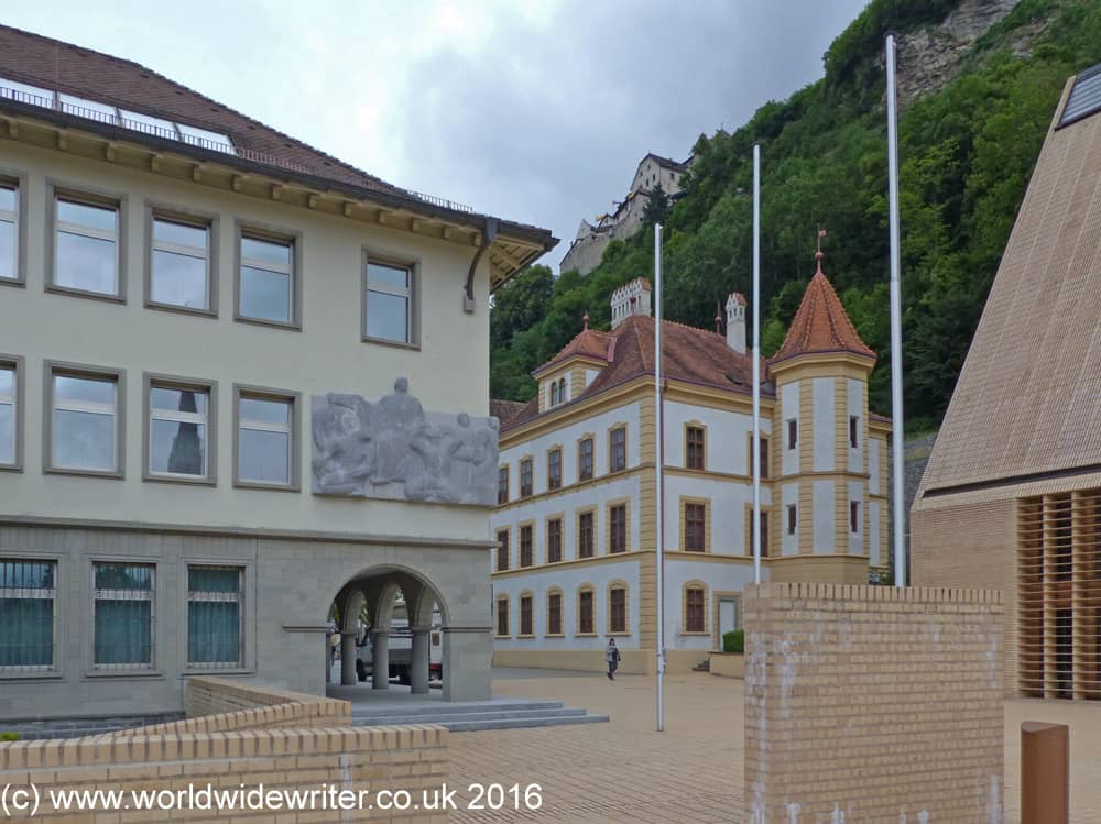 Vaduz city centre