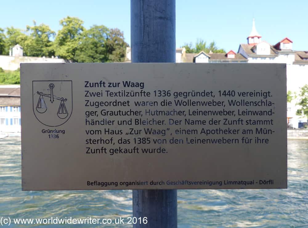 Information plaque